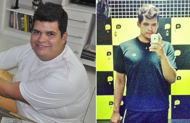 Em menos de dois anos, Mauro conseguiu perder 75 quilos (Foto: Arquivo pessoal)