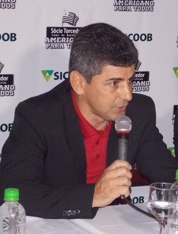 Presidente do Americano, Luciano Viana (Foto: Nickolas Abreu/Divulgação AFC)