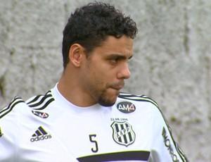 Diego Oliveira, atacante Ponte Preta (Foto: Reprodução EPTV)