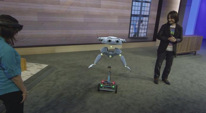 HoloLens Build 2015 (Foto: Reprodução/Microsoft)