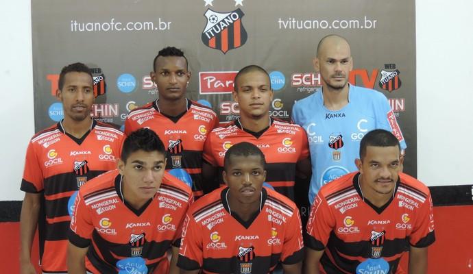 Ituano apresentou sete reforços para o próximo ano (Foto: Emilio Botta)