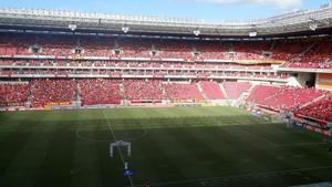 sport x são paulo arena pernambuco (Foto: Daniel Gomes)
