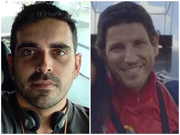 Gustavo Garcez (esq.) e Marcos Padilha (dir.) (Foto: Divulgação/BrDT e Reprodução/ TV TEM)