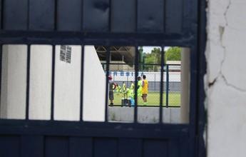 River-PI vai ao Lindolfo em penúltimo treino, e Waldemar fecha atividade