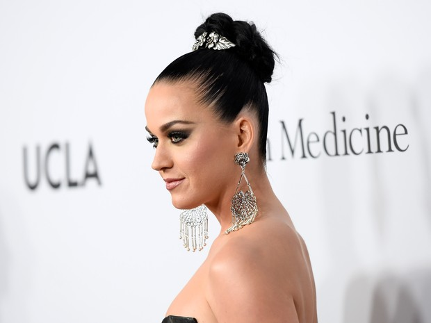 Katy Perry em evento beneficente em Los Angeles, nos Estados Unidos (Foto: Angela Weiss/ Getty Images/ AFP)
