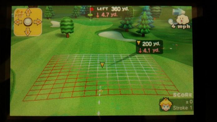 Utilize a função câmera para ter noção do trajeto da bola (Foto: Paulo Vasconcellos)