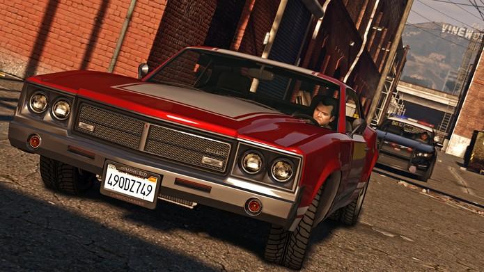 GTA 5 para PC (Foto: Divulgação)