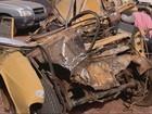 Avô e neta morrem em acidente entre  carro e caminhão em Caxambu, MG