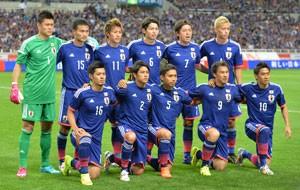 Jogo da seleção japonesa (foto) na Copa será o primeiro a ser gravado em 4K (Foto: AFP)