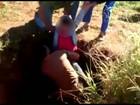 Menino sai ileso depois de cair em poço de 18 metros de profundidade