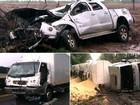 Três acidentes no mesmo trecho da PR-323 deixam três pessoas feridas