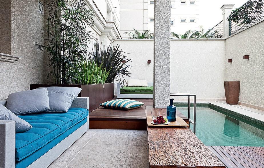 Foto piscina pequena de ana camila vieira 936413 - Piscinas en patios interiores ...