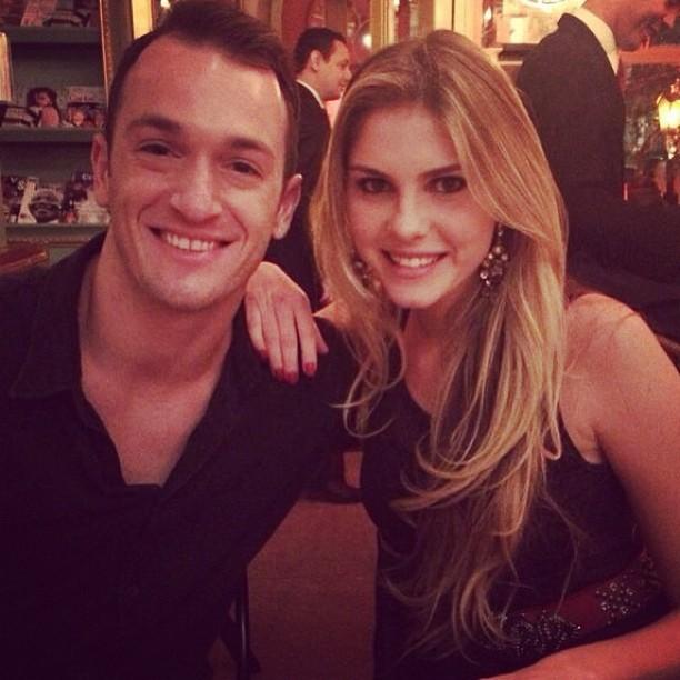 Diego Hypólito e Bárbara Evans (Foto: Instagram / Reprodução)