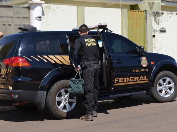 Polícia Federal Vilhena (Foto: Eliete Marques/ G1)