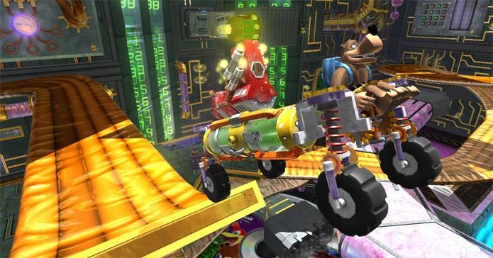 Banjo-Kazooie: Nuts & Bolts decepcionou os fãs da série (Foto: Divulgação/Rare)