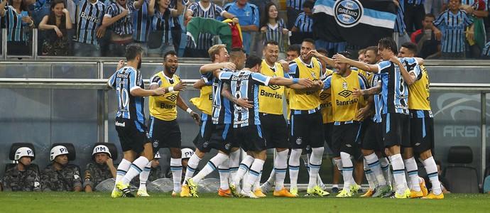 Gre-Nal 407 Grêmio Inter Campeonato Brasileiro Arena (Foto: Lucas Uebel/Grêmio FBPA)