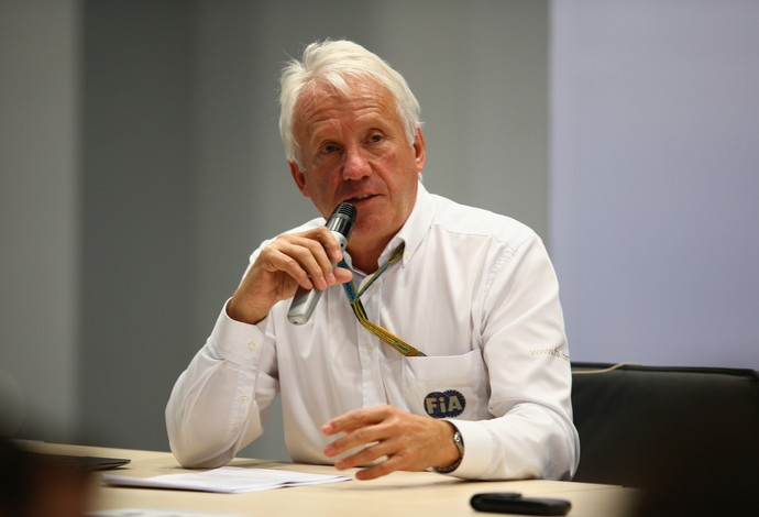 Charlie Whiting - GP da Rússia - 10/10/2014 (Foto: Getty Images)
