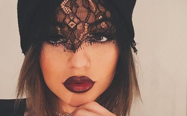 Kylie Jenner maquaigem Marsala  (Foto: Reproduo Instagram)