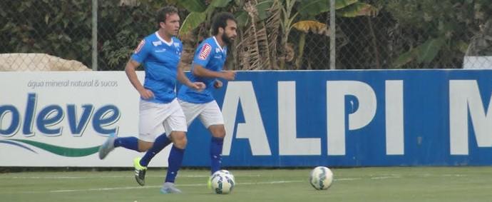Gabriel Xavier e Willian Farias (Foto: Tayrane Corrêa)
