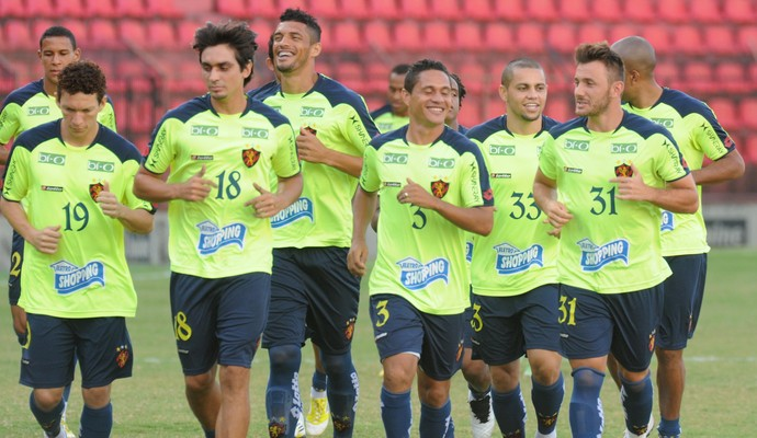 Sport treino (Foto: Aldo Carneiro/ Pernambuco Press)