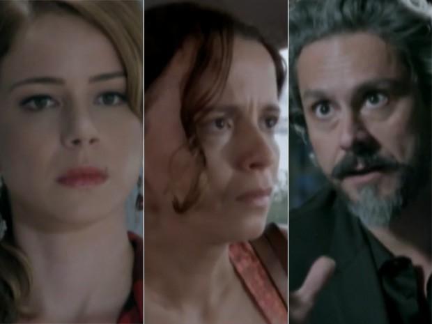 Cristina, Lorraine e Zé Alfredo vão movimentar a novela das 9 (Foto: Gshow)