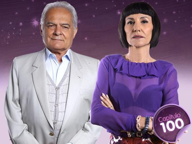 Será que Lexor e Melissa iriam se dar bem? (Foto: Amor Eterno Amor/TV Globo)