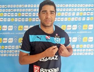 Ivan, novo goleiro do Paysandu para a Série B do Brasileiro (Foto: Ronaldo Santos/Ascom Paysandu)