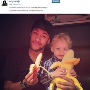 Contra o racismo, Neymar lança campanha pelo Instagram. (Foto: Reprodução/Instagram)