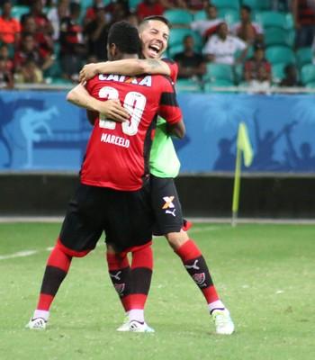 vitória; flávio; flávio vitória (Foto: Francisco Galvão/EC Vitória)