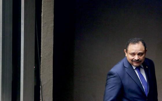Presidente interino, Waldir Maranhão (Foto: André Coelho / Agência O Globo)
