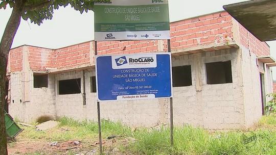 Ministério pede explicações sobre atraso em obras de postos de saúde em Rio Claro