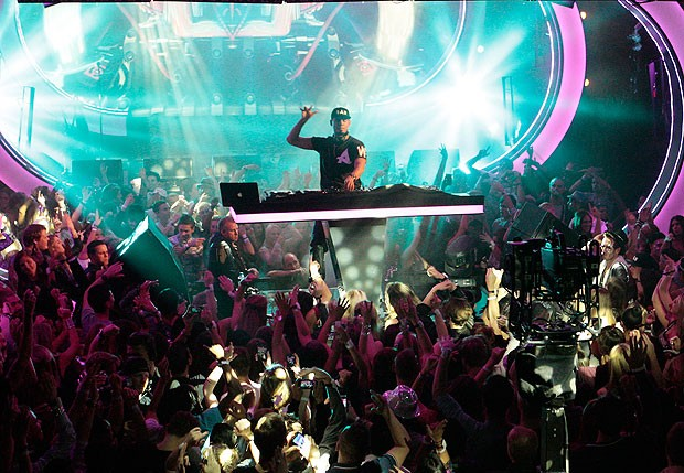 Afrojack no EMA 2013 (Foto: Getty Images)
