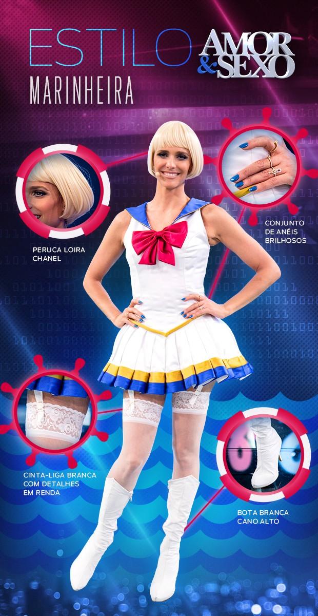 Look Fernanda Lima - Tema Digital (Foto: Inácio Moraes / Gshow)