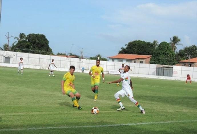 Sampaio Corrêa perdeu por 2 a 0 para o São José na tarde deste sábado (Foto: Sampaio /  Divulgação)