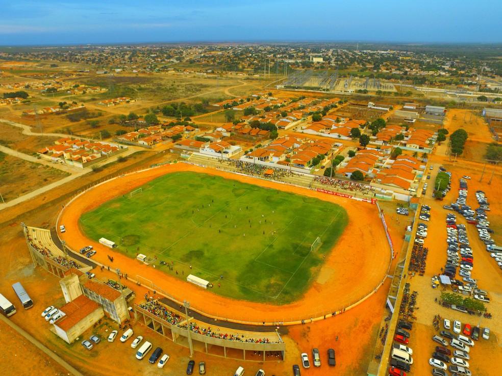 Estádio Edgarzão, em Assú, deve receber os jogos do Potiguar de Mossoró na Série D do Campeonato Brasileiro (Foto: Bruno Andrade)