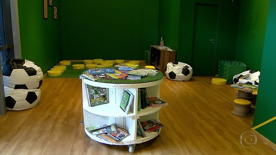 Museu do Mineirão inaugura espaço de leitura para as crianças