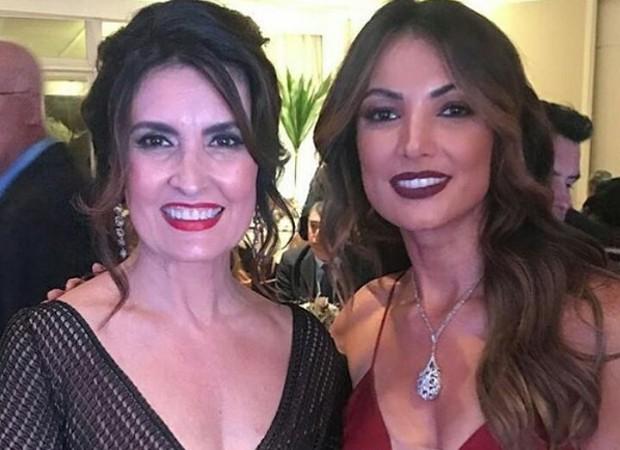 Fátima Bernardes e Patrícia Poeta (Foto: Reprodução/Instagram)