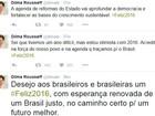 Dilma afirma que 2015 foi ano difícil, mas se diz otimista com 2016