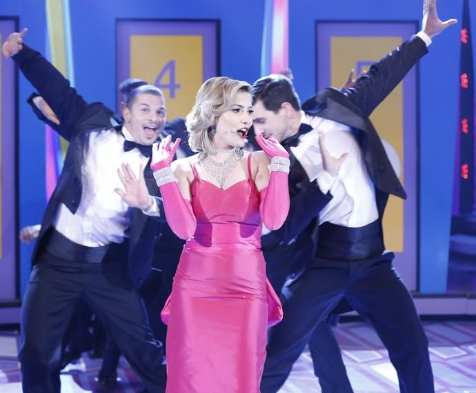 Stacy deu vida a cantora Madonna  (Foto: Ellen Soares/ Gshow)