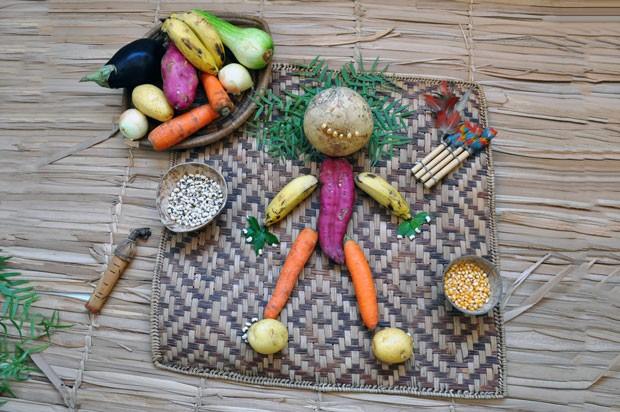 O menino que virou semente, com Adriana Weneck Regina (Foto: Divulgação)