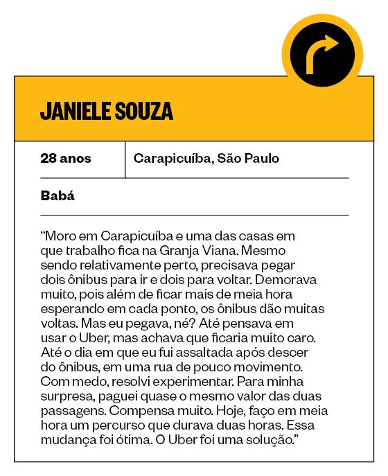 Janiele Souza (Foto: Época)