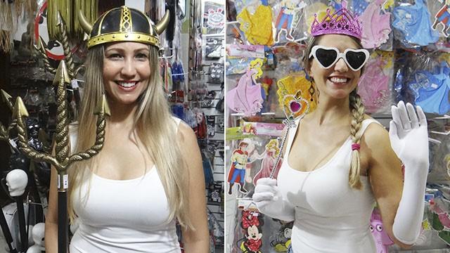 Fantasia Medieval Feminina e Princesa Moderna (Foto: Fernanda Maciel)