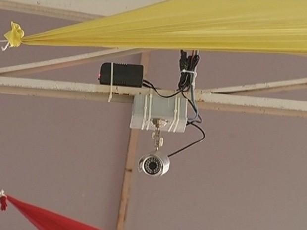 Local da festa mais popular do país receberá 'olho' digital (Foto: Reprodução TV TEM)