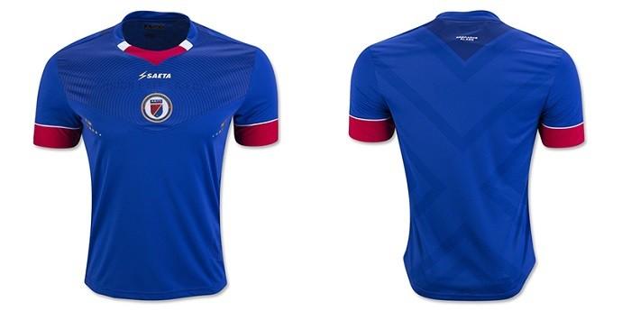 Camisa Haiti Copa América Centenario