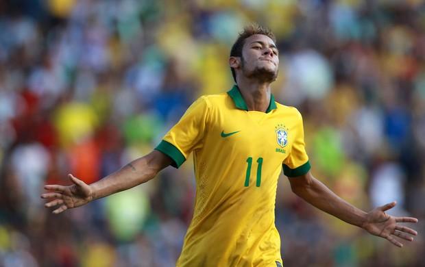neymar brasil x bolivia (Foto: AP)
