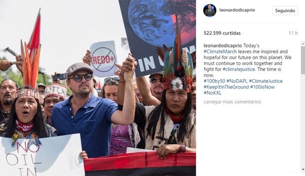 Leonardo DiCaprio (Foto: Reprodução/Instagram)