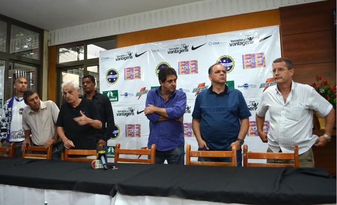 Apresentação São José Esporte Clube (Foto: Danilo Sardinha/GloboEsporte.com)