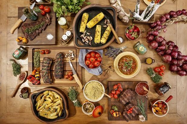 Muitas vezes Vamos Receber: ideias para decorar a mesa para um churrasco - Casa  LB46