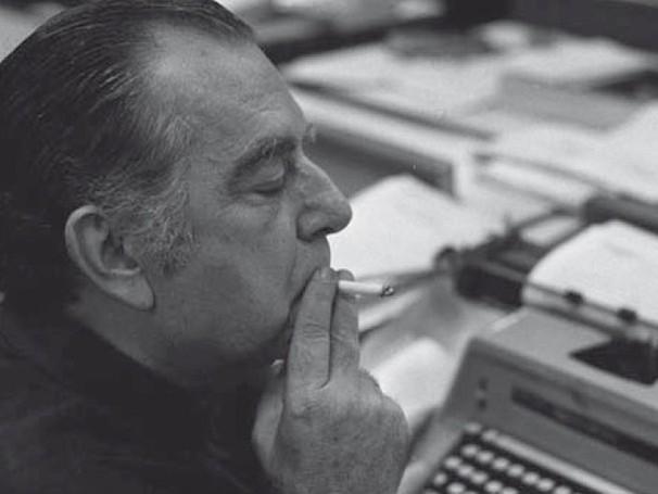 Nelson Rodrigues trabalhou durante 50 anos na imprensa (Foto: Ag. O Globo)