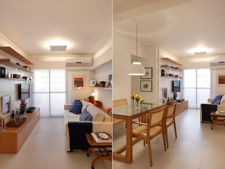 Como Decorar Sala Unica E Pequena ~ Sala pequena como decorar e ganhar mais espaço  Casa  GNT